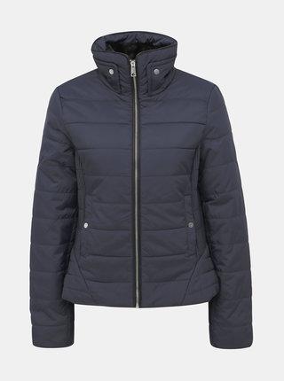 Tmavomodrá prešívaná zimná bunda VERO MODA Clarissa