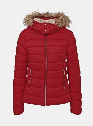 Červená dámská zimní bunda Alcott