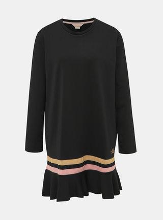 Čierne šaty Femi Stories Naba