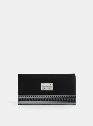 Černá dámská vzorovaná peněženka Horsefeathers Ayla