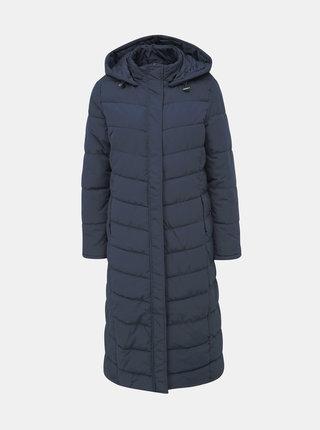 Tmavomodrý prešívaný zimný kabát Jacqueline de Yong Kammi