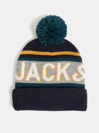 Tmavě modrá čepice Jack & Jones Mac