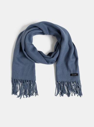 Modrý šál Jack & Jones Solid