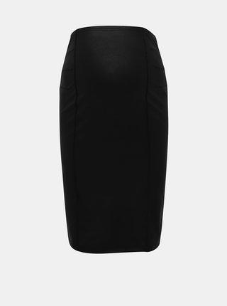 Černá těhotenská pouzdrová sukně Mama.licious Luna