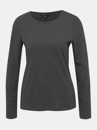 Tmavošedé basic tričko Dorothy Perkins