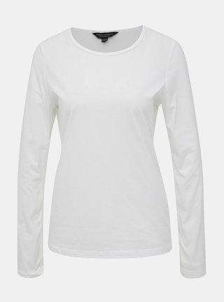 Bílé basic tričko Dorothy Perkins