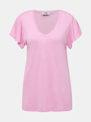 Rúžové basic tričko Dorothy Perkins Tall