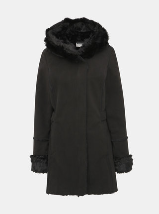 Černý dámský kabát killtec Dagmar