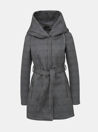 Šedý dámsky vzorovaný kabát killtec Frydara
