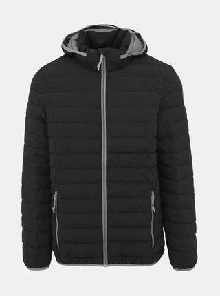 Čierna pánska vodeodolná prešívaná bunda killtec Ventaro