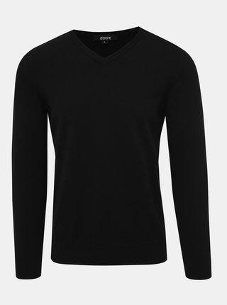 Čierny pánsky basic sveter ZOOT