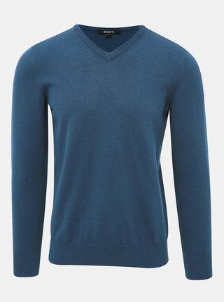 Modrý pánský basic svetr ZOOT