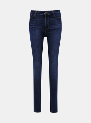 Modré skinny fit rifle Dorothy Perkins Tall