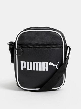 Čierna crossbody taška Puma Campus retro
