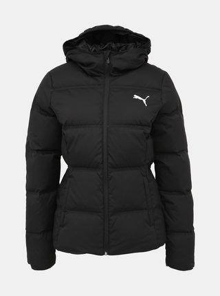 Černá dámská zimní prošívaná bunda Puma Essentials