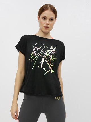 Čierne dámske športové tričko Puma Shift