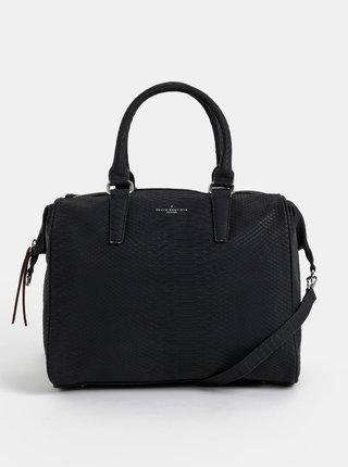 Čierna kabelka s hadím vzorom Paul's Boutique Porter
