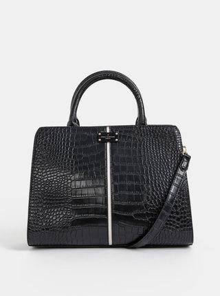 Čierna kabelka s krokodýlím vzorom Paul's Boutique Midi Mabel