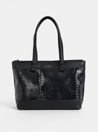 Černá kabelka s hadím vzorem Paul's Boutique Olympia