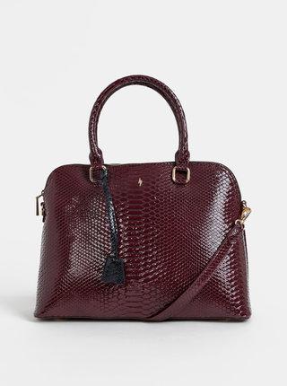 Vínová kabelka s hadím vzorom Paul's Boutique Maisy