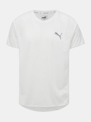 Biele pánske športové tričko Puma Evostripe