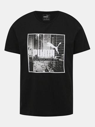 Černé pánské tričko Puma Photo Street