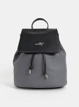 Šedý dámský elegantní batoh Meatfly