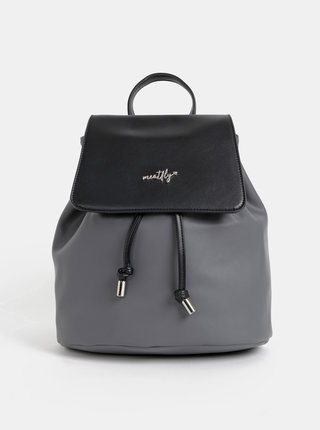 Šedý dámsky elegantný batoh Meatfly