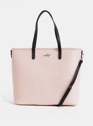 Světle růžová kabelka Meatfly