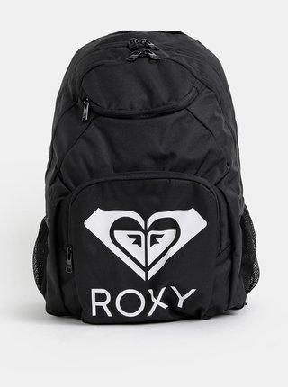 Čierny batoh s potlačou Roxy Shadow Swell 24 l