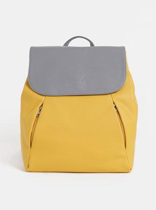 Žltý dámsky batoh Meatfly