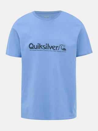 Modré tričko s potiskem Quiksilver Legends