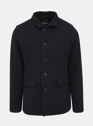 Tmavomodrý krátky kabát Jack & Jones Cold