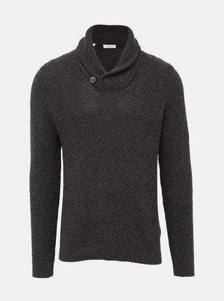 Tmavě šedý svetr Selected Homme Richard
