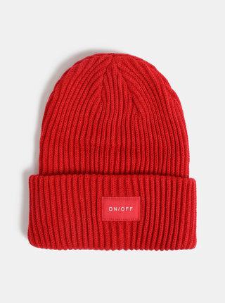 Červená čapica Pieces Hexo