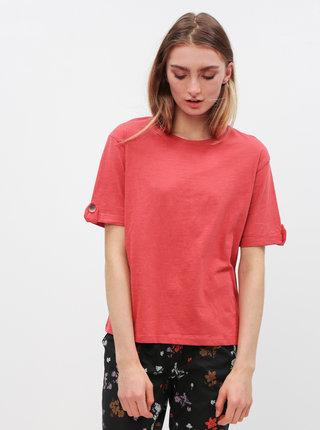 Tehlové tričko Jacqueline de Yong Lucky