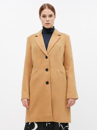 Béžový kabát VERO MODA Cala