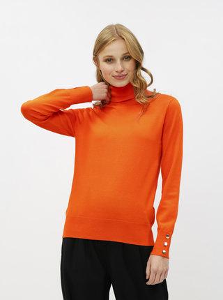Oranžový rolák Dorothy Perkins