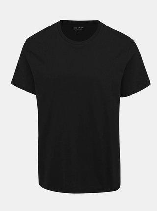 Černé basic tričko Burton Menswear London