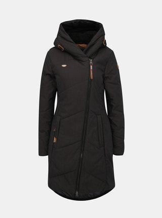 Tmavošedý dámsky zimný kabát Ragwear Gordon