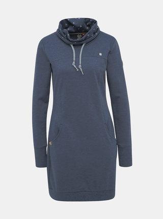 Tmavě modré mikinové šaty Ragwear Dita