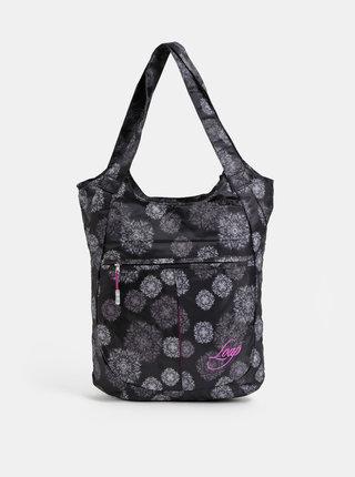 Čierna vzorovaná kabelka LOAP Finnie