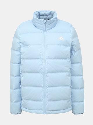 Světle modrá dámská zimní bunda adidas Performance Helionic