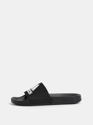Černé pánské pantofle adidas CORE Adilette