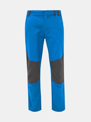 Modré pánské softshellové funkční kalhoty LOAP Ultor
