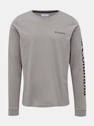 Šedé pánske tričko Columbia