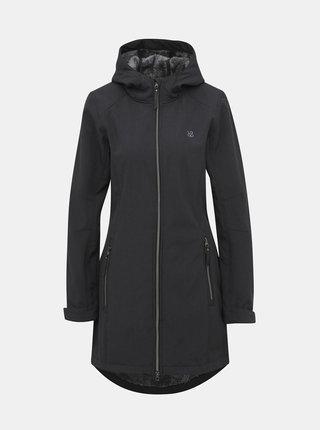Tmavě šedý dámský softshellový nepromokavý kabát LOAP Lydie