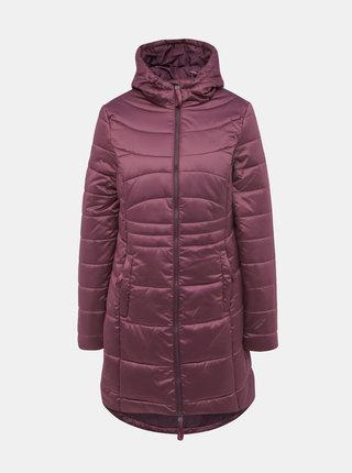 Fialový dámský zimní prošívaný voděodpudivý kabát LOAP Takita