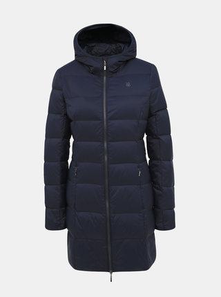 Tmavě modrý dámský prošívaný zimní kabát LOAP Iprada