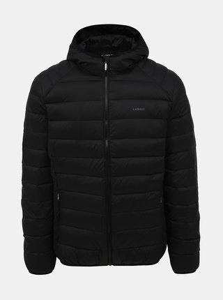 Čierna pánska prešívaná vodeodpudivá zimná bunda LOAP Ipry
